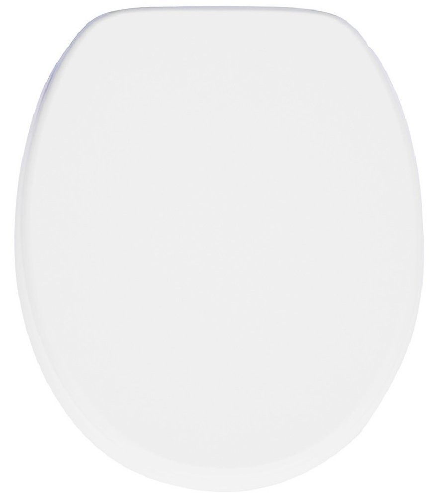 Standard WC Deckel in weißer Farbe